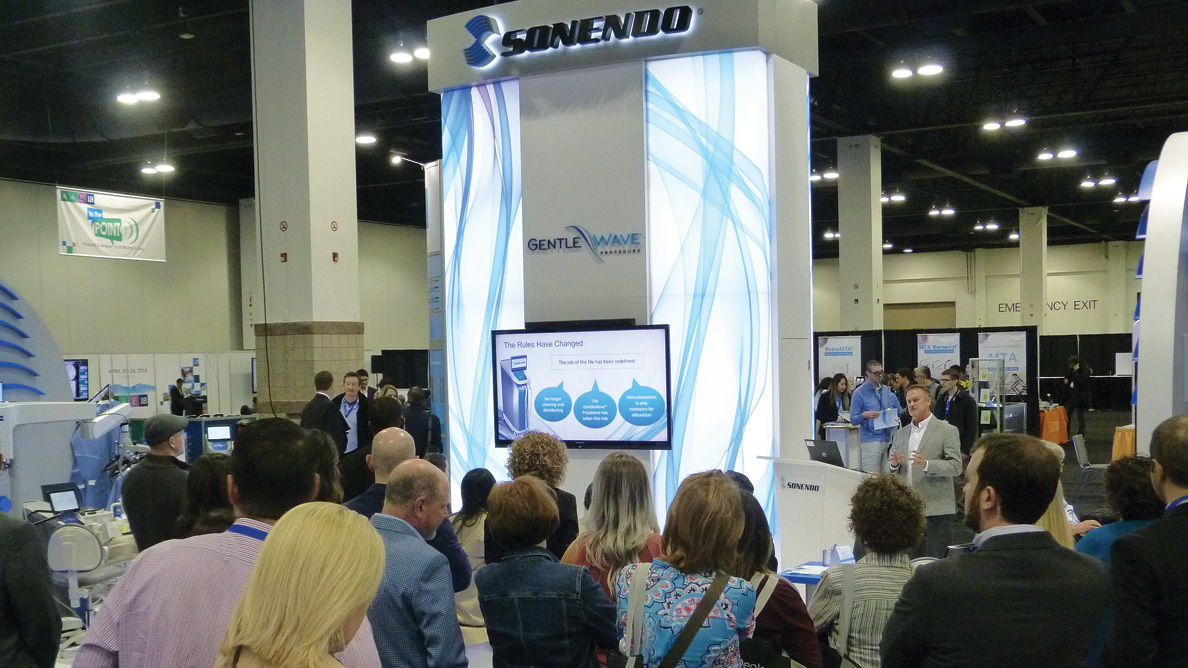 Sonendo offers education, special events at AAE19
