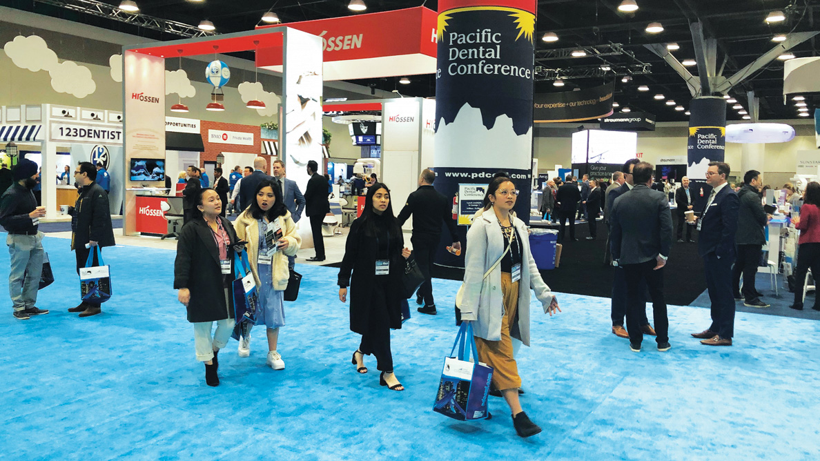 Pacific Dental Conference 2021: Time to shop