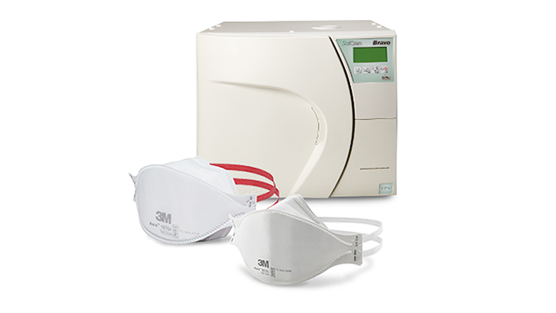 Decontamination solutions for compatible N95 flat-fold style respirators